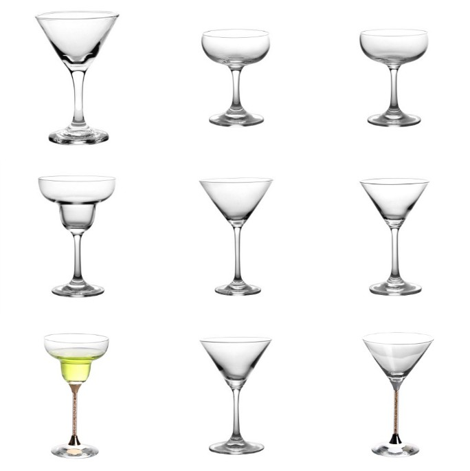 Hot Wholesale Cocktail Glasses in Garbao Glassware