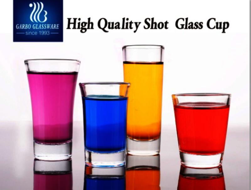 Popular shot glasses in the world