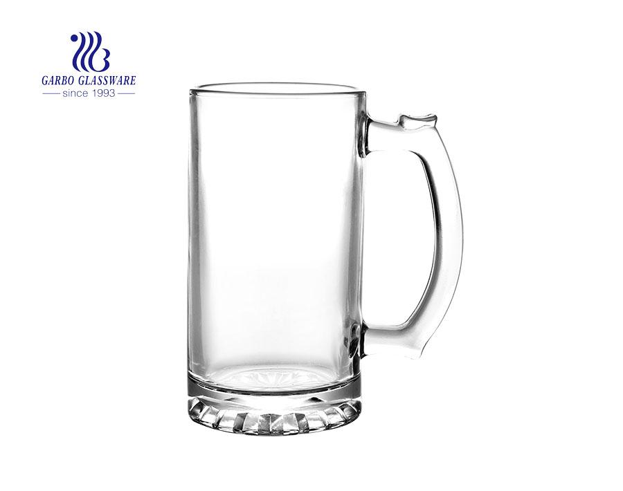 China 16oz big beer glass mugs