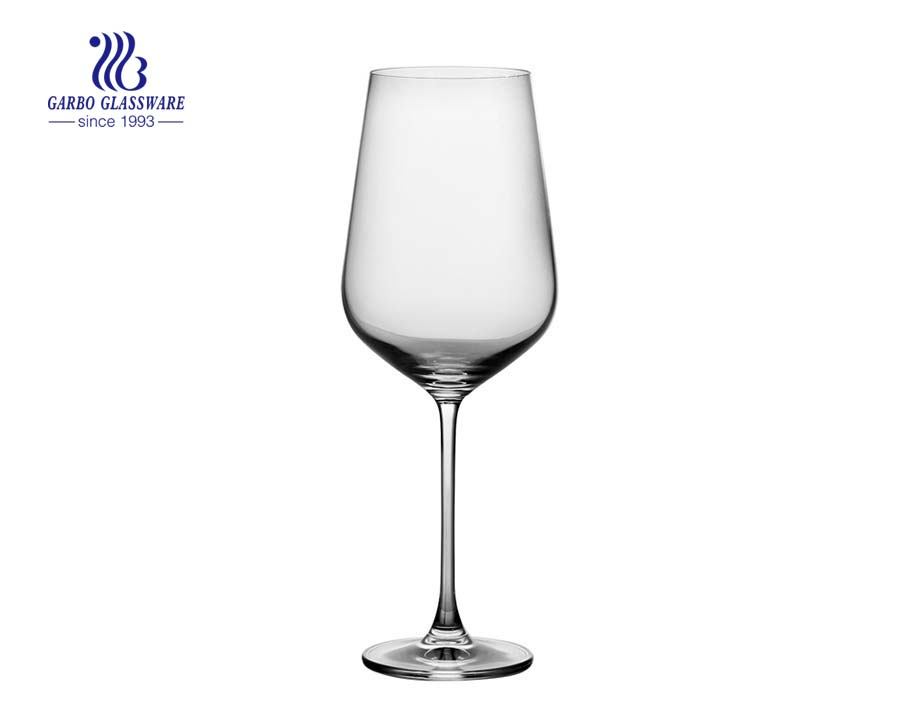 740ml 26oz High quality stemware crystal goblet wine glass tumbler