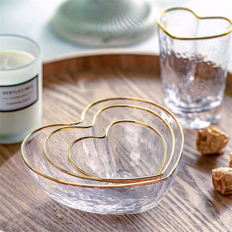 Promotion Gift Orders for Breakfast Bowls With Gold Rim
