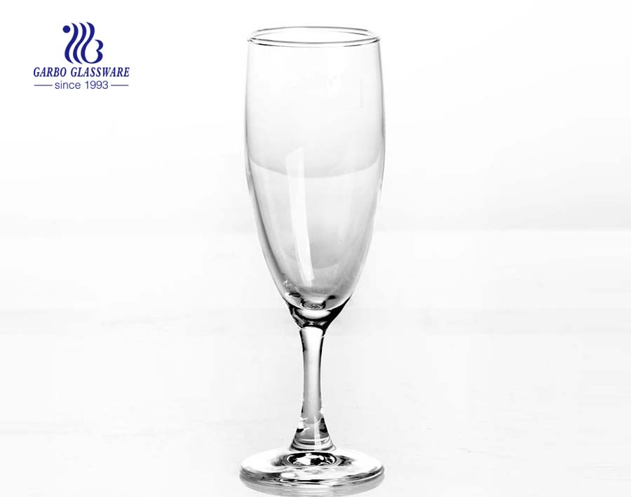 160ml clear red wine glass champagne crystal wedding glass stemware