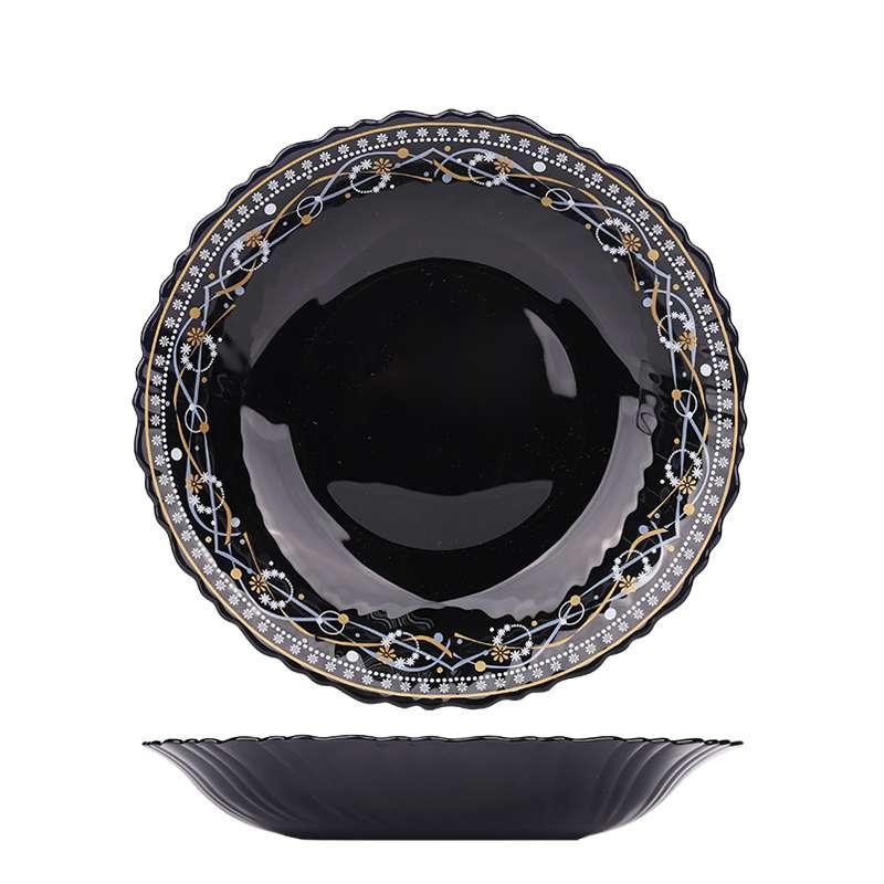 الأواني الزجاجية العقيق الأسود اختيارك الفريد لأدوات المائدة
