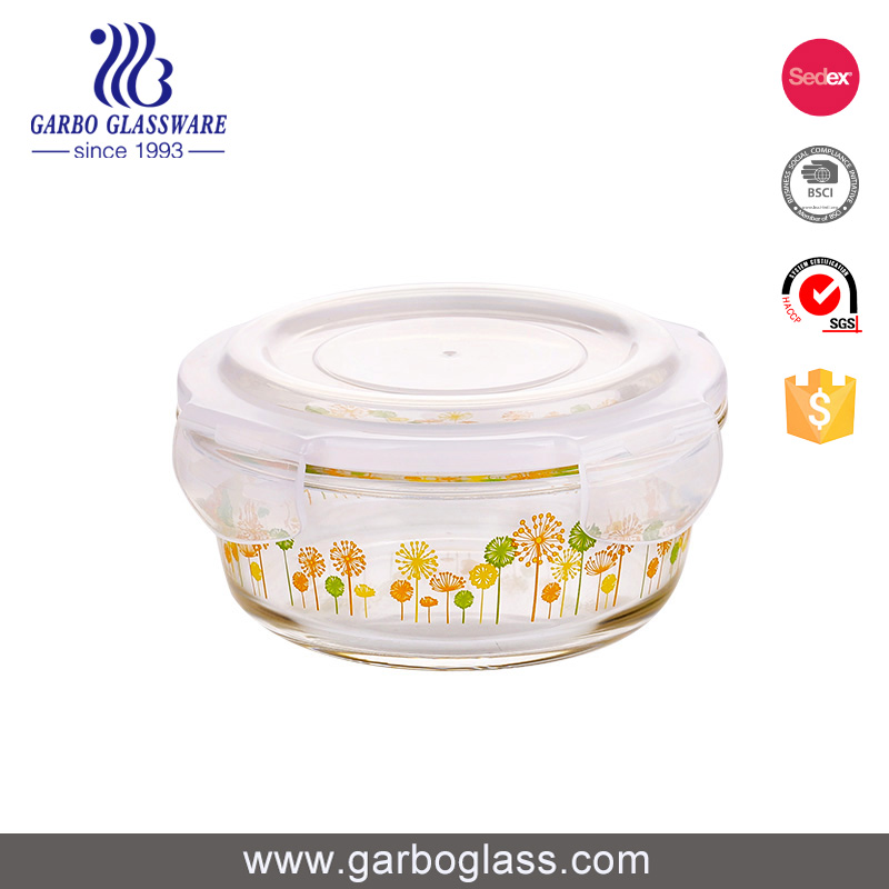 What type of glass lunch box can be placed in a microwave oven?cid=3