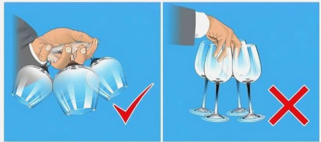 Correct way to hold and clink wine glasses