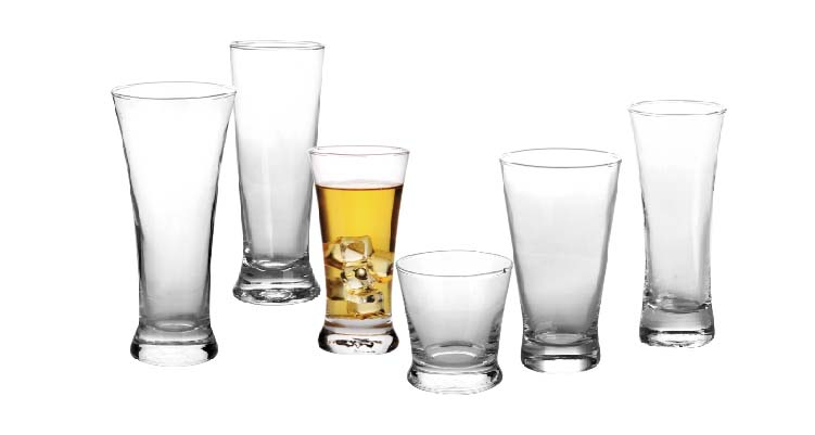 3 types of glasses to use for beer