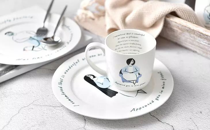 A set of ceramicware for your table