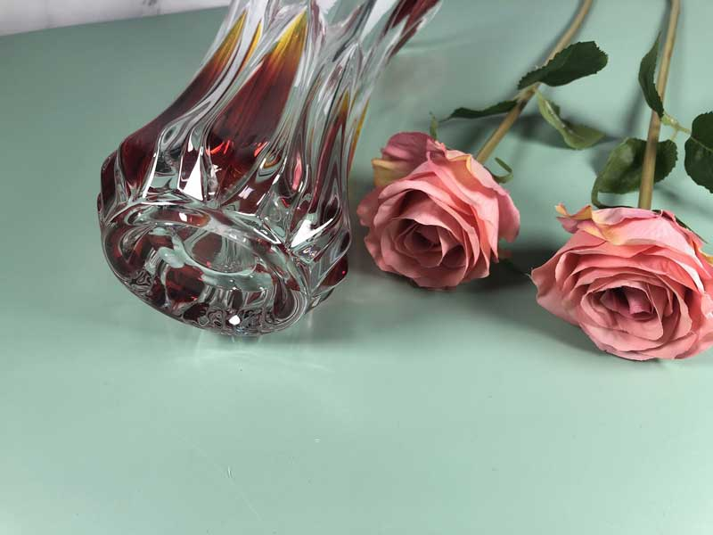 The using tips for glass vase