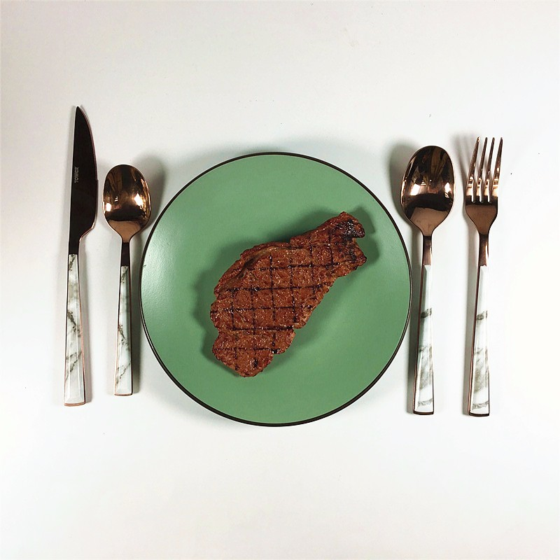 Tableware stainless steel cutlery dinner set promotion.