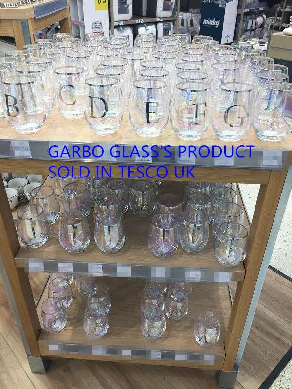 Garbo Glass في سوق الأواني الزجاجية في المملكة المتحدة