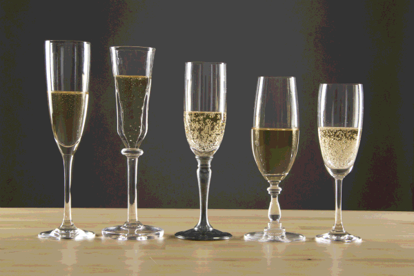 Why not drink champagne with a champagne flute?