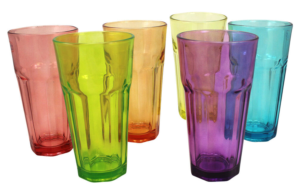 كيف تعرف عن الكأس الزجاجية بلون واحد