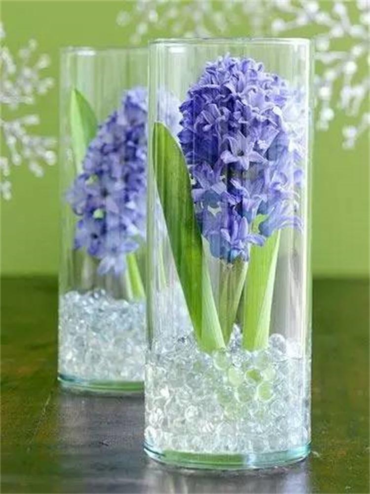 Mẹo cắm hoa trong lọ thủy tinh