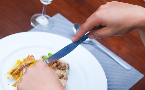 The correct way to place cutlery