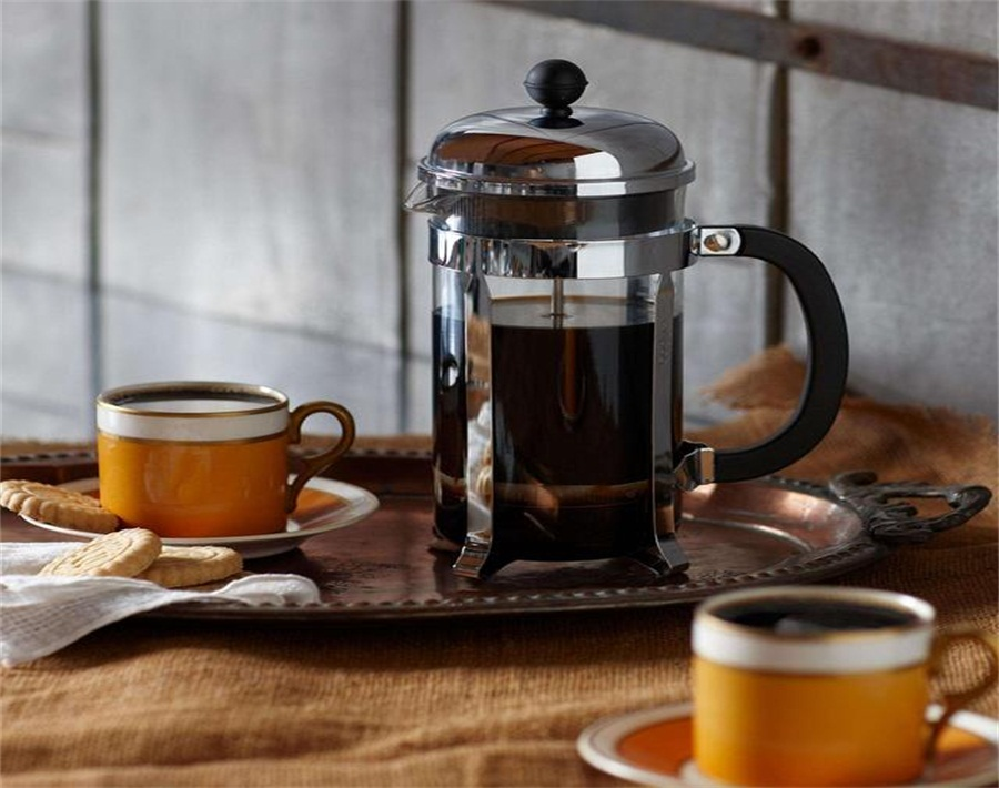 How to make coffee in glass French press
