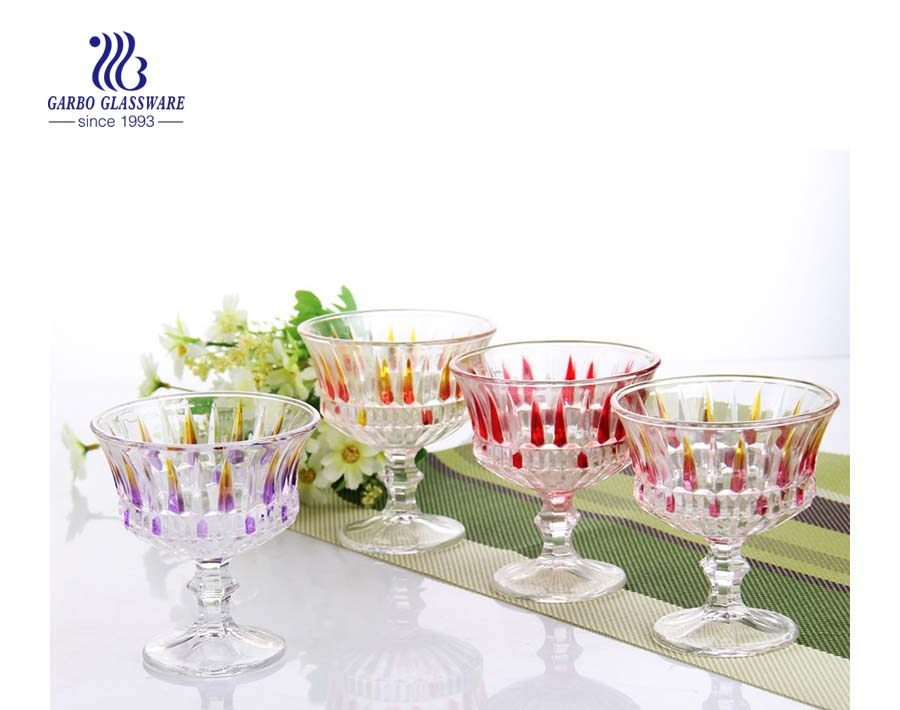 Five Glass Ice Cream Cup for You to Beat the Heat in Summer