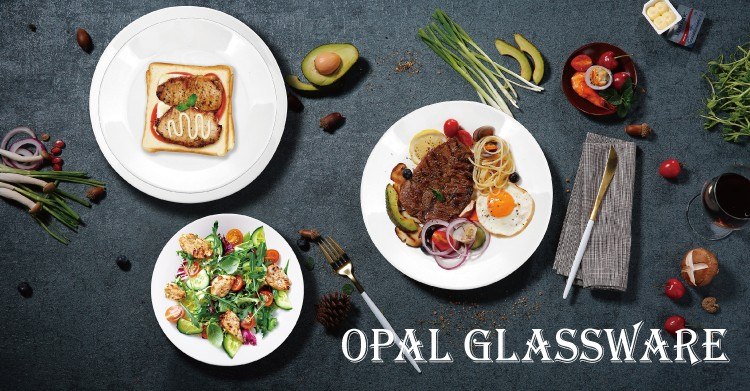 what material and advantages of opal glass tableware