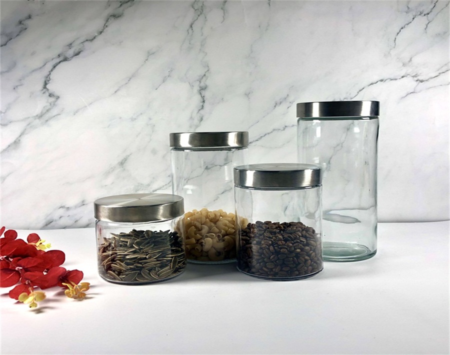 how to choose the glass food storage jars