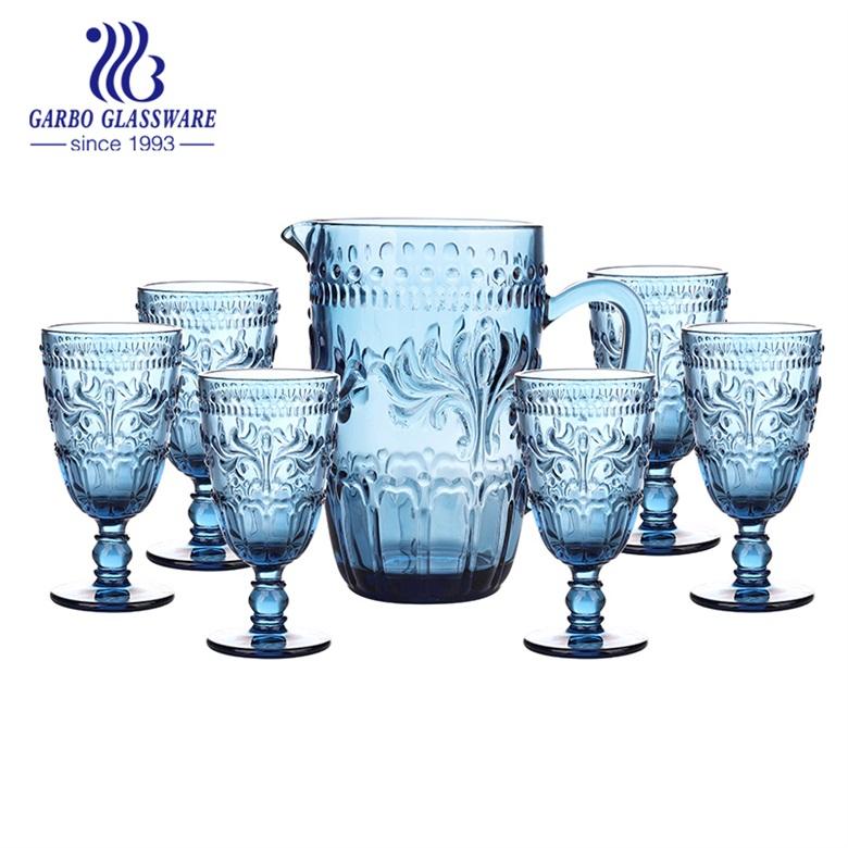 新しいデザインの無地の飲用水差しとカップ、無地のカップについてどのように知っていますか?cid = 3