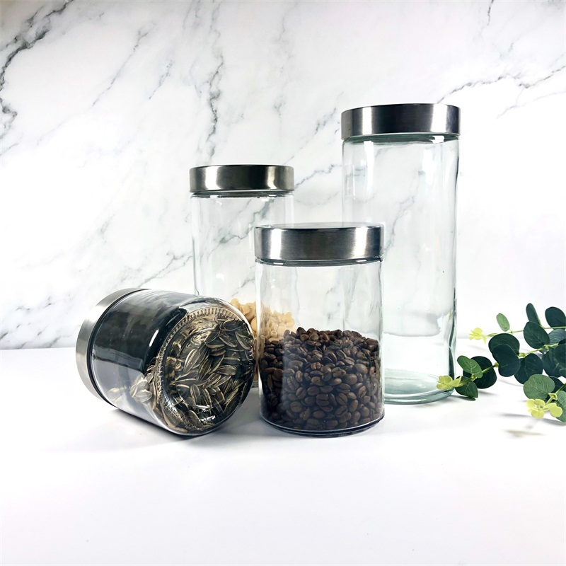 The wonderful Glass Storage Jars to store your food