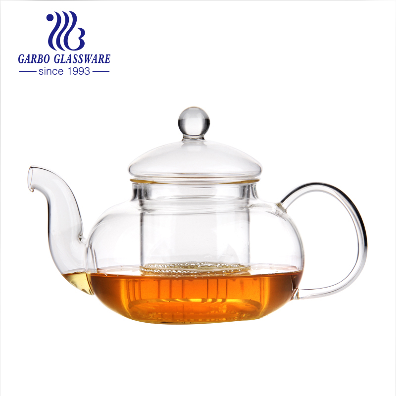 4 types of high quality home use glass tea pot