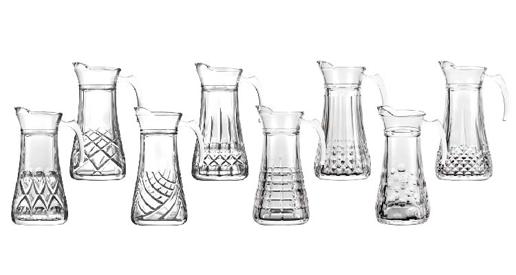 Glass Beverage Pitcher Clarity Design Tea Hot or Cold Water Pitcher