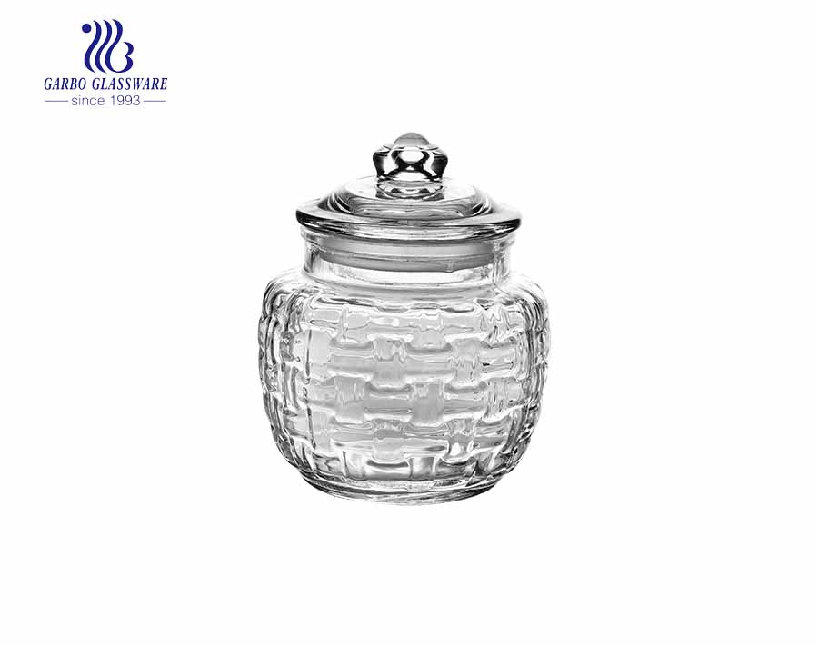 600ML Factory Glass Storage Jar with High Quality