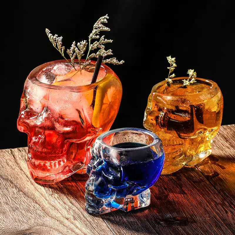 Do you know how beautiful the skull shape glassware looks