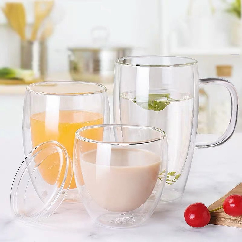 Why double wall glass cups are so popular