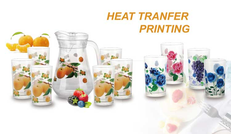 OEM South Africa classic 1.4L and 210ml pitcher jug and tumblers set 7pcs with poly foam pack