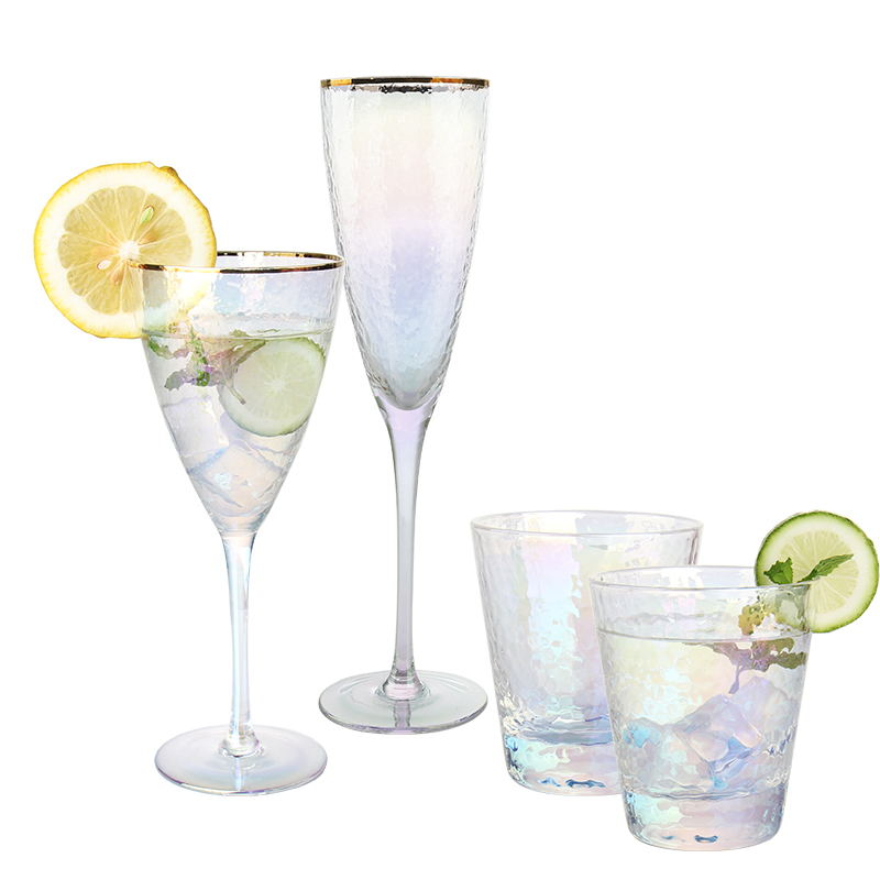 How to choose glass cup with golden rim