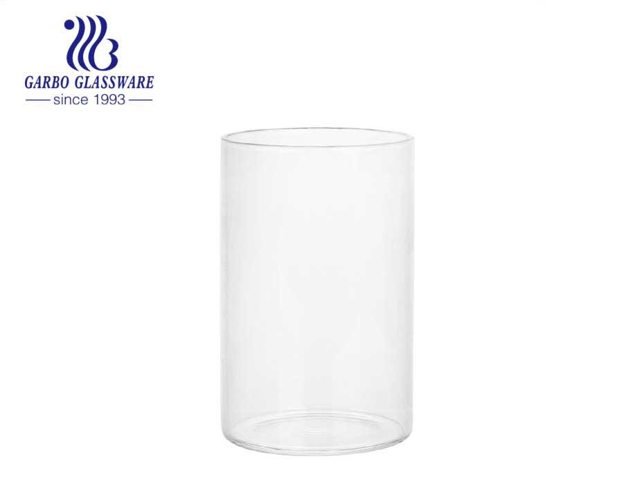 12OZ custom logo best selling Borosilicate Glassware wholesalehousehold use borosilicate glass cup