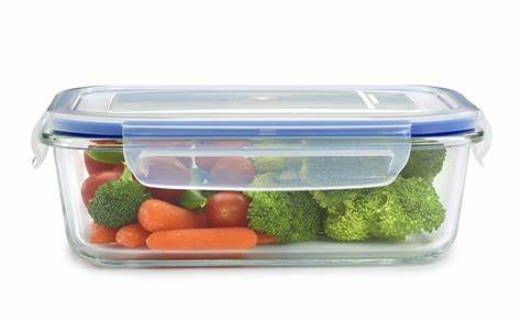 The multi functions of glass food containers
