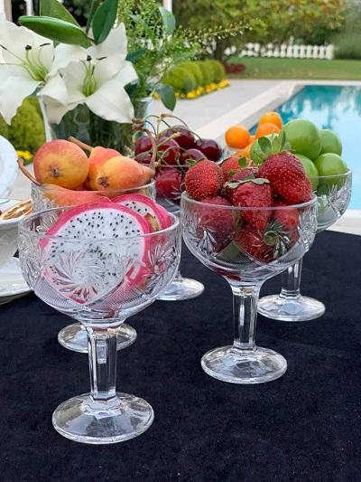 グラスアイスカップとボウルの多用途使用法