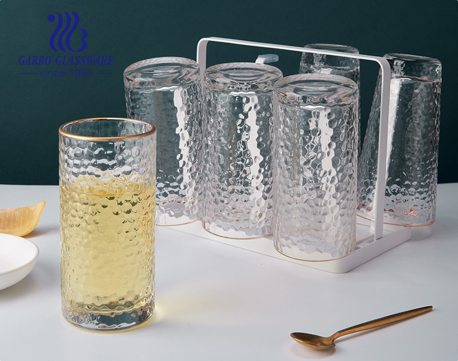 The origin of hammered glass cups
