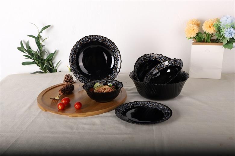tại sao chọn bộ đồ ăn bằng thủy tinh opal không phải bằng gốm
