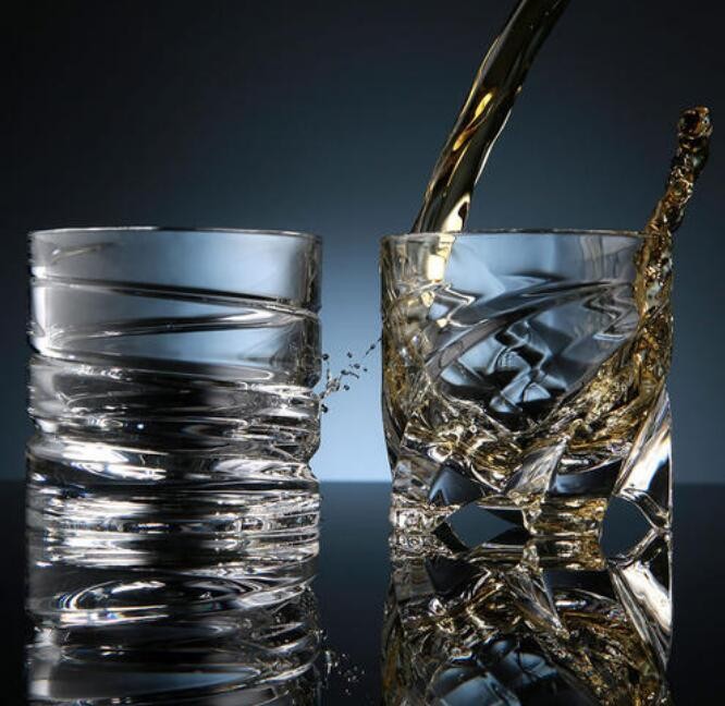 Creative and nice glass cup sharing
