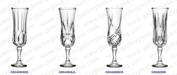 Garbo Weekly Promotions: New and unique design of glass stemware