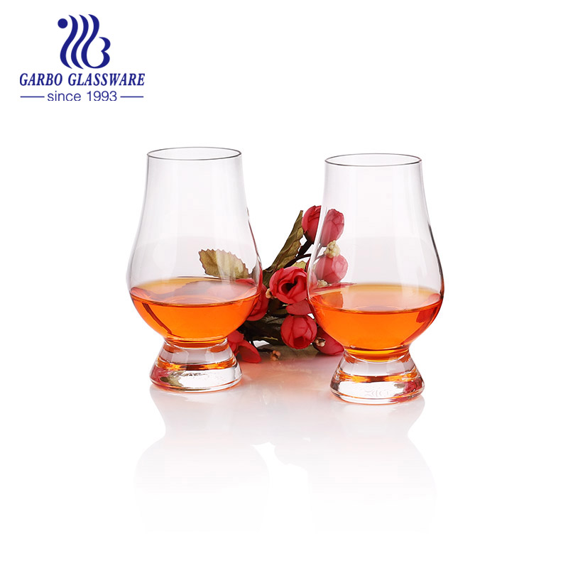 What is the popular whiskey glass in Garbo glassware?
