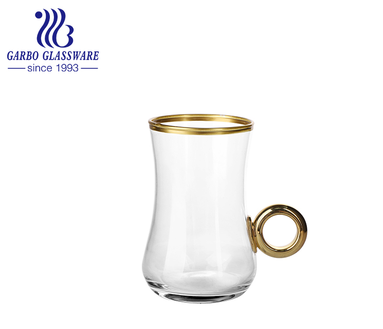 Garbo Weekly Promotions: New Designs of Gold Rimmed Tea Cup Sets
