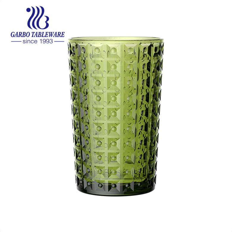 New Arrival! Garbo Special design solid glassware tableware