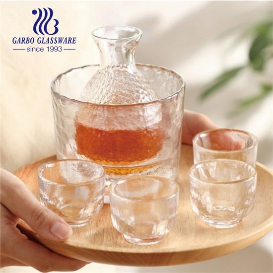 Fresh Rice Wine Tasting Experience-Garbo Handmade Glass Sake Drinking Set