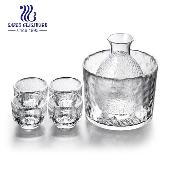 تجربة تذوق نبيذ الأرز الطازج - مجموعة الشرب الزجاجية المصنوعة يدويًا من Garbo