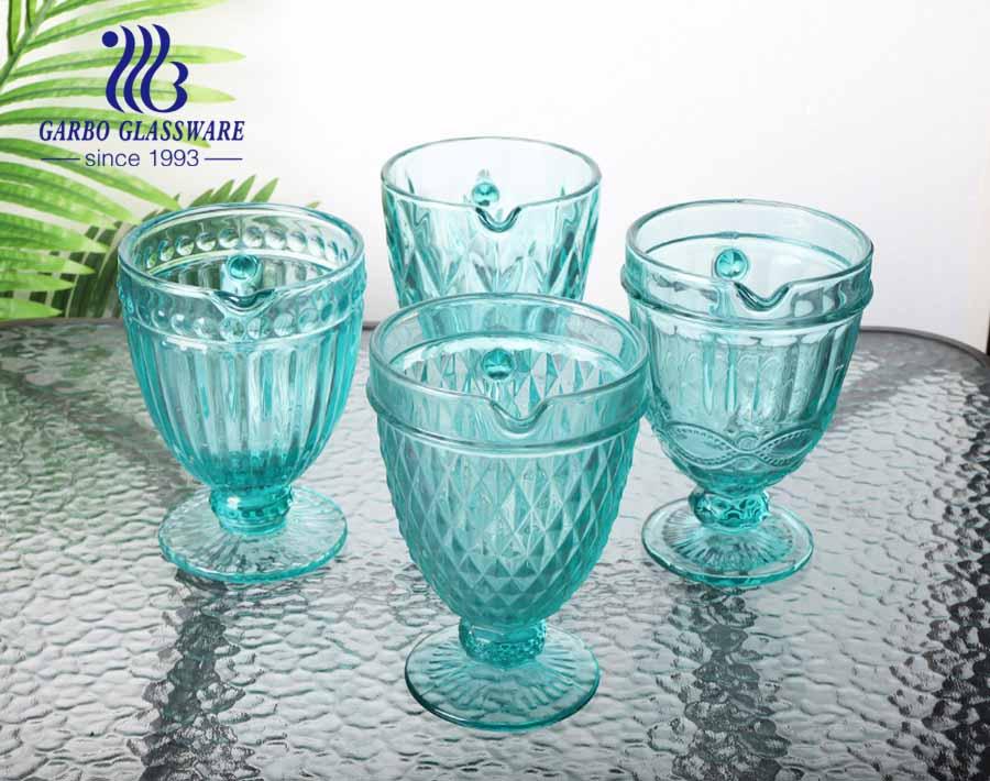 Jarro de vidro tiffany de alta qualidade de 1.3L para água potável, popular para uso doméstico