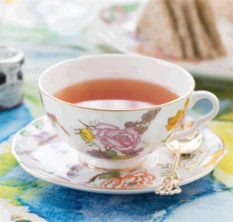 コーヒーと紅茶の飲用セットの受け皿の機能は何ですか?cid = 3