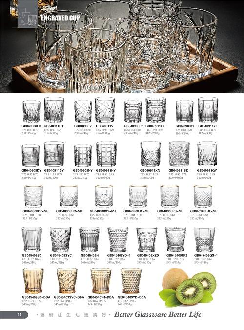 Garbo Glassware2021の新しいカタログ