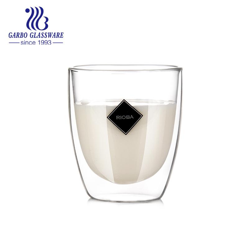 高ホウケイ酸二重壁ガラスカップは私たちの生活の中で最良の選択です