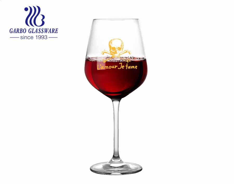 كوب زجاجي للشرب سعة 490 مل من الزجاج والكريستال والكريستال