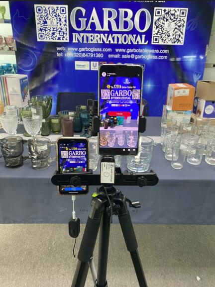 Garbo Live Streams in 129th Online Canton Fair on April