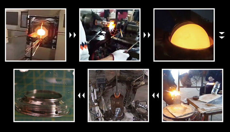 700ml Clear borosilicate glass teapot with ceramic infuser elegant teapots